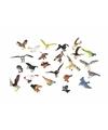 Plastic vogels 12 stuks